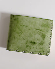 Handmade LEATHER Womens Small Bifold Wallet Leather Small Wallet FOR Women