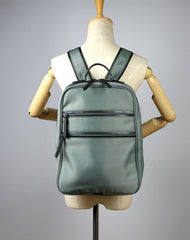 Womens Nylon Backpack Purse Light Green Best Satchel Backpack Nylon School Rucksack for Ladies