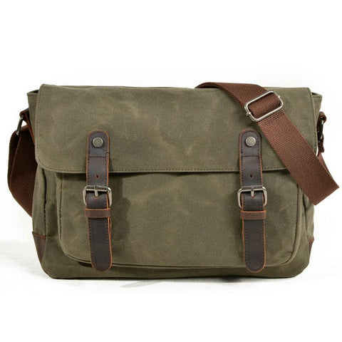 Mens Canvas Side Bag Messenger Bag Camera Courier Bag Shoulder Bag for Men