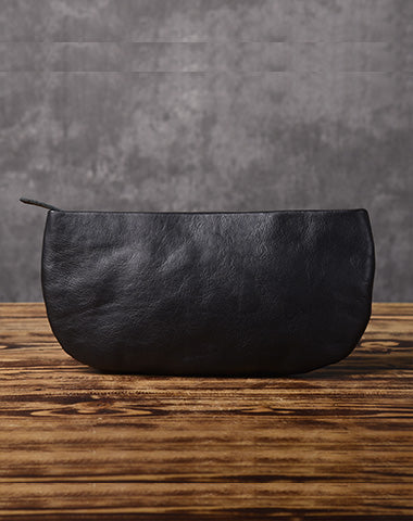 LEATHER Women Wristlet Wallet Zipper Clutch FOR Women