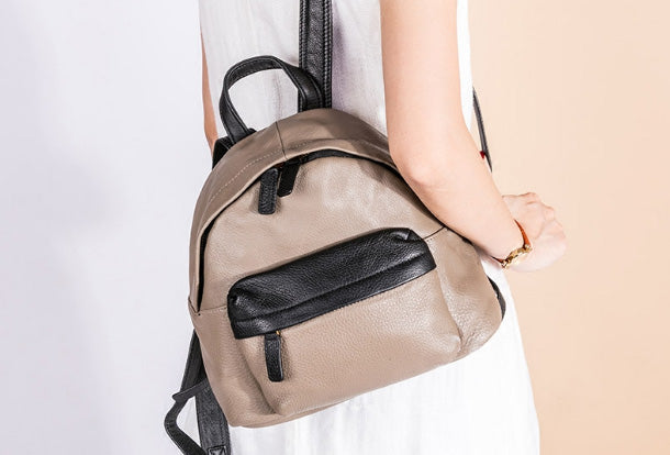 Next.  149.00 149.00. No reviews. Overview  Design  Handmade Genuine  Leather Cute Backpack Bag ... d22ffd9f3d7dd