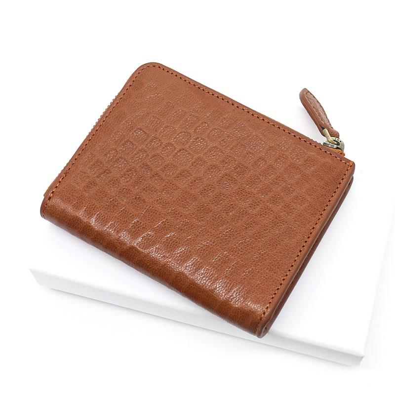 Leather Mens Zipper Small Wallet Slim Wallet Front Pocket Wallet billfold Card Wallet for Men