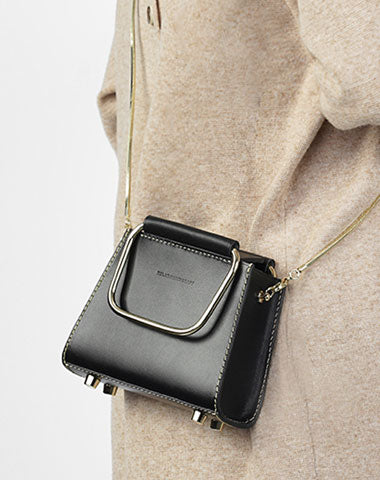 Cute Leather Womens Mini Chain Purse Handbag Chain Shoulder Bags for Women