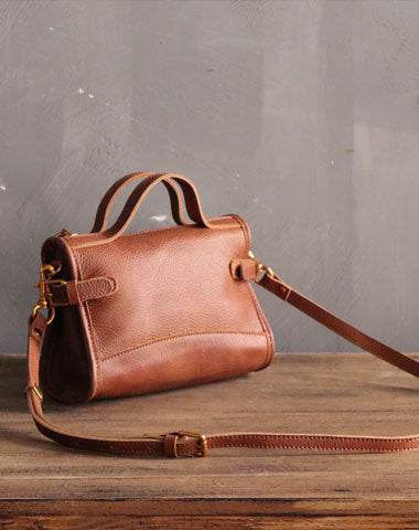 Vintage LEATHER WOMEN Handbag Purse Fashion SHOULDER BAG Purses FOR WOMEN
