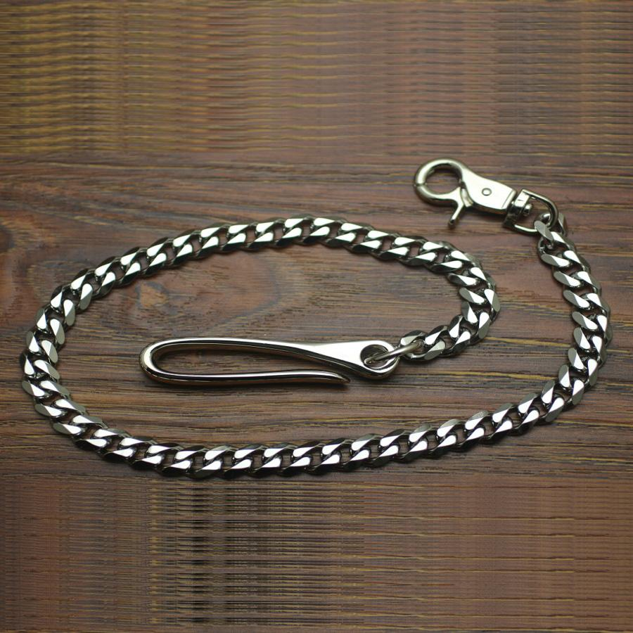 Cool Men's Stainless Steel Silver Long 21'' Pants Chain Biker Wallet Chain For Men