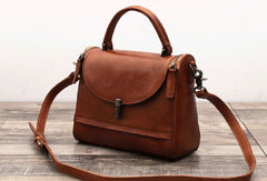 Handmade Leather phone bag handbag purse for women leather shoulder bag crossbody bag