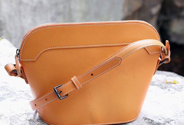Handmade purse leather small crossbody bag purse shoulder bag for women