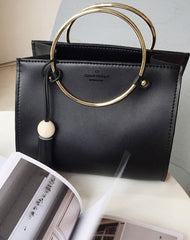 Stylish Leather Black Womens Handbag Crossbody Bag Purse Shoulder Bag for Women