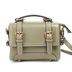 Mini Satchel Purse Green Satchel Bag - Annie Jewel