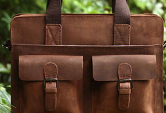 Genuine Leather Mens Cool Messenger Bag iPad Bag Chest Bag Bike Bag Cycling Evelope Cluth Bag For Men