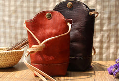 Handmade Leather bag for women leather phone bag shoulder bag crossbody bag