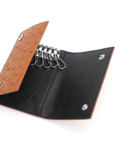 Leather Mens Key Wallet Car Keys Holder Cool Car Keys Case for Men