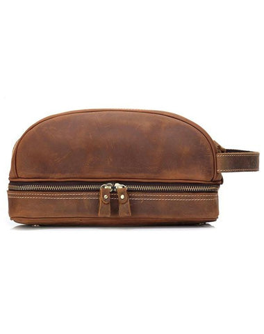Cool Leather Mens Work Clutch Bag Wristlet Bag Clutch Handbag For Men