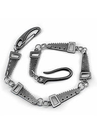 Cool SAW Silver Punk Pants Chain Wallet Chain jeans chain jean chain Biker Wallet Chain For Men
