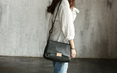 Handmade Vintage WOMENs LEATHER Shoulder Bag Messenger Bag FOR WOMEN