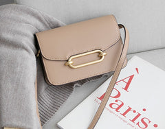 Minimalist Leather Womens Stylish Small Crossbody Purse Shoulder Bag for Women