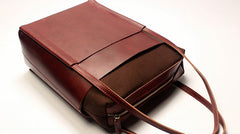 Stylish LEATHER Brown WOMEN Tote Bag Tote Shoulder Purses FOR WOMEN