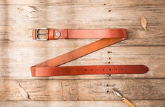 Handmade Cool Leather Mens Belt Leather Belt for Men