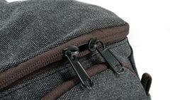 Mens Small Canvas Camera Messenger Bag Side Bag Camera Shoulder Bag for Men