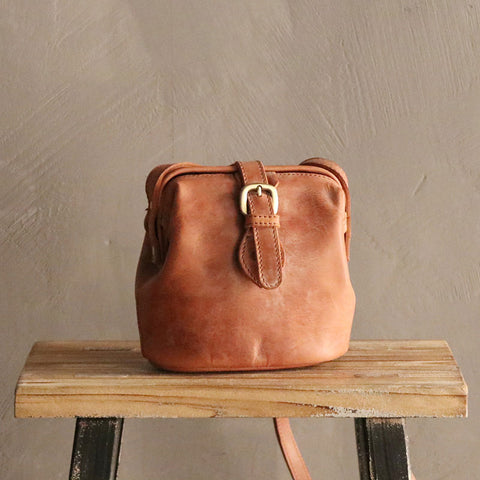 Vintage LEATHER WOMEN Doctor Purses SHOULDER BAG Purses FOR WOMEN