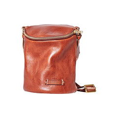 Fashion Brown Leather Womens Bucket Side Bag Black Bucket Shoulder Bag For Women