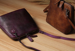 Handmade Leather phone purse shoulder bag for women leather crossbody bag