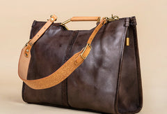 Handmade Genuine Leather Handbag Bag Shoulder Bag Shopper Bag Purse For Women