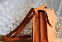 Handmade Leather phone purse stachel bag for women leather shoulder bag