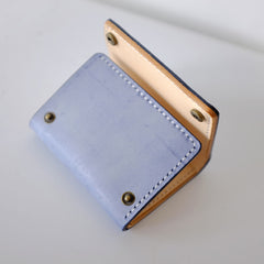 Handmade LEATHER Womens Trifold Small Wallet Leather Small Wallet FOR Women