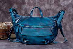 Vintage Womens Leather Handbag Work Shoulder Bag Purse For Women