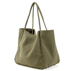 Cute Cotton-Flax Women Mens Tote Bag Shoulder Bag Shopping Bag For Men