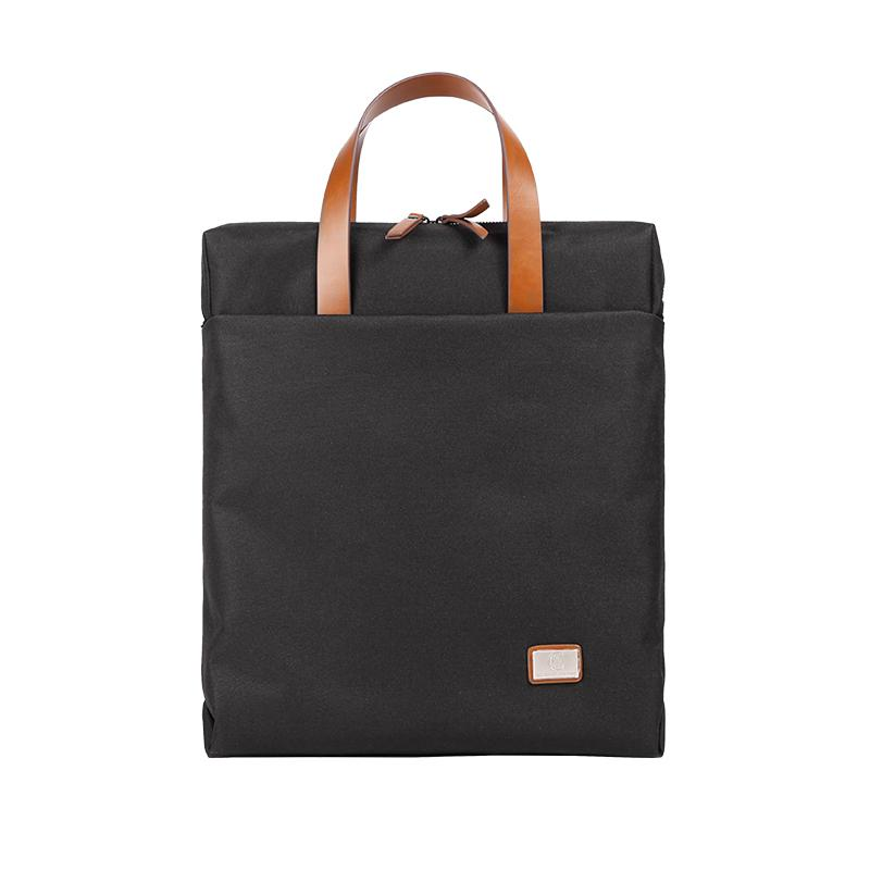 Fashion OXFORD CLOTH PVC Black Men's Women's Laptop Handbag Briefcase Business Briefcase For Men