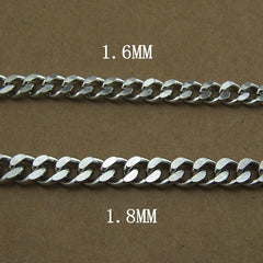304 Solid Stainless Steel 15inch Wallet Chain Cool Punk Rock Biker Trucker Wallet Chain Trucker Wallet Chains for Men