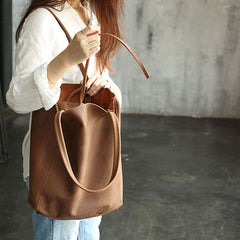 Fashion WOMENs LEATHER Tote Bag Vintage Tote Purse FOR WOMEN