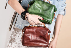 Genuine Leather Handbag Crossbody Bag Shoulder Bag Purse For Women