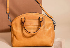 Genuine Leather Handbag Shoulder Bag Handmade Bag Leather Purse For Women