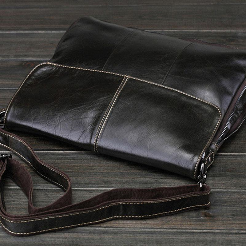 821dadc6 Previous. Next. $89.00$89.00. Overview: Design: Cool Black Small Leather  Mens Messenger Bag ...