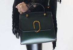 Genuine Leather handbag purse shoulder bag black for women leather crossbody bag