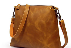 Handmade Vintage Womens Leather Tote Bag Purse for Women Handbags