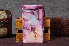 Vintage Leather Womens Wallet Long Wallet Vintage Wallet Purse For Women