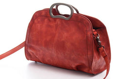 Vintage Womens Leather Handbag Stylish Shoulder Bag Purse For Women