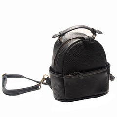 Cute LEATHER WOMENs Small Backpack Stylish SHOULDER BAG Purses FOR WOMEN