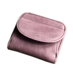Cute LEATHER Womens Small Wallet Bifold Leather Small Wallets FOR Women