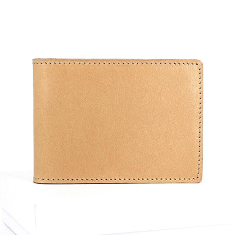 Cool Leather Mens license Wallet Front Pocket Wallets Small License Holder for Men