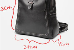 Womens Leather Cute Vintage Backpack School Backpack Purse for Women