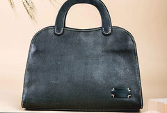 Genuine Leather Handmade Handbag Bag Shoulder Bag Purse For Women