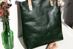 Handmade Leather tote bag shopper bag for women leather shoulder bag handbag
