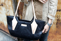 Handmade handbag purse shopper leather bag purse shoulder bag for women