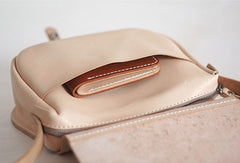 Handmade Womens Leather Saddle Shoulder Bag Purse Crossbody Bag for Women