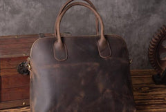 Vintage leather mens Briefcase vintage laptops Briefcase Business Briefcases